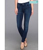 Mavi Jeans - Adriana Mid-Rise Super Skinny in Dark Lux Sateen
