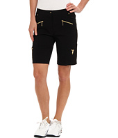 Jamie Sadock - Melody 19 in. Short with Gold Zippers