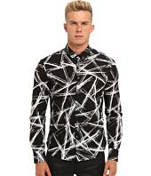 McQ - Engraved Edge Printed Shirt