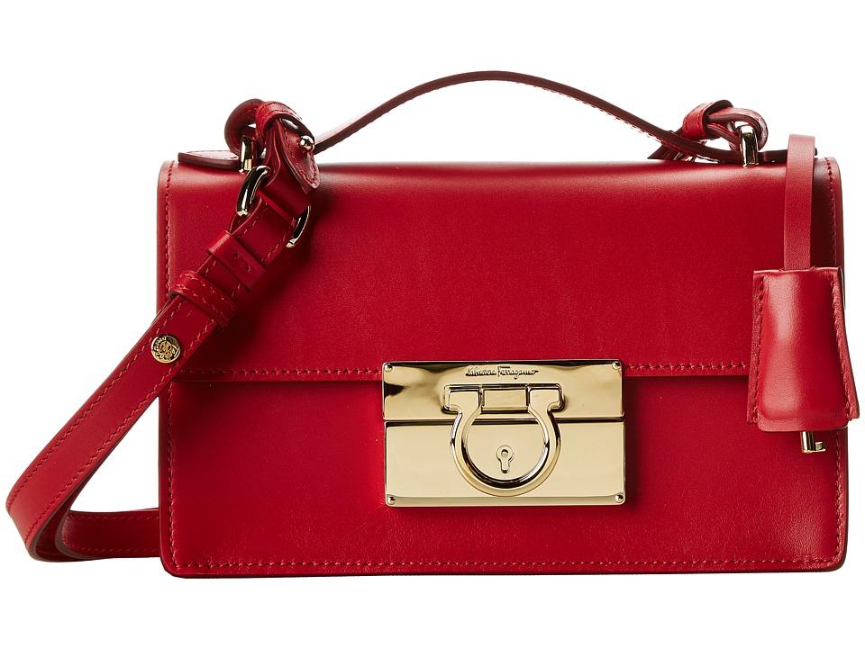 Salvatore Ferragamo - 21E665 Aileen (Rosso) Handbags