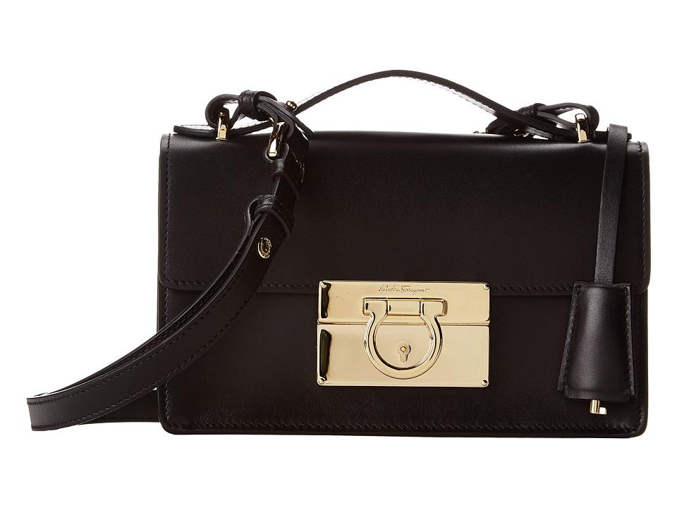 Salvatore Ferragamo - 21E665 Aileen (Nero) Handbags