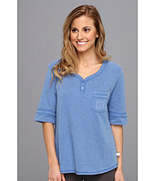 Karen Neuburger - IVP Elbow Sleeve Henley Top