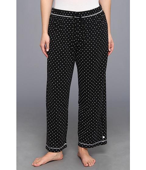 Karen Neuburger - Plus Size IVP Long Pant (Dot Black) - Apparel