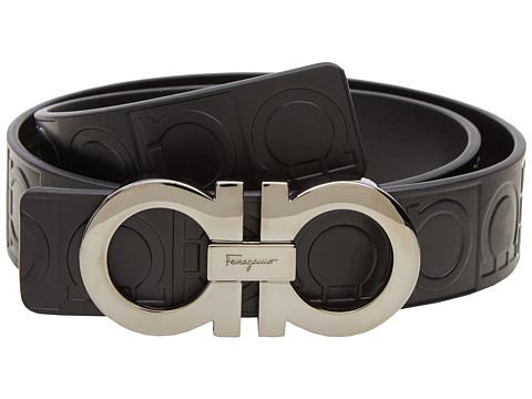 Salvatore Ferragamo Double Gancini Sized Belt 679169