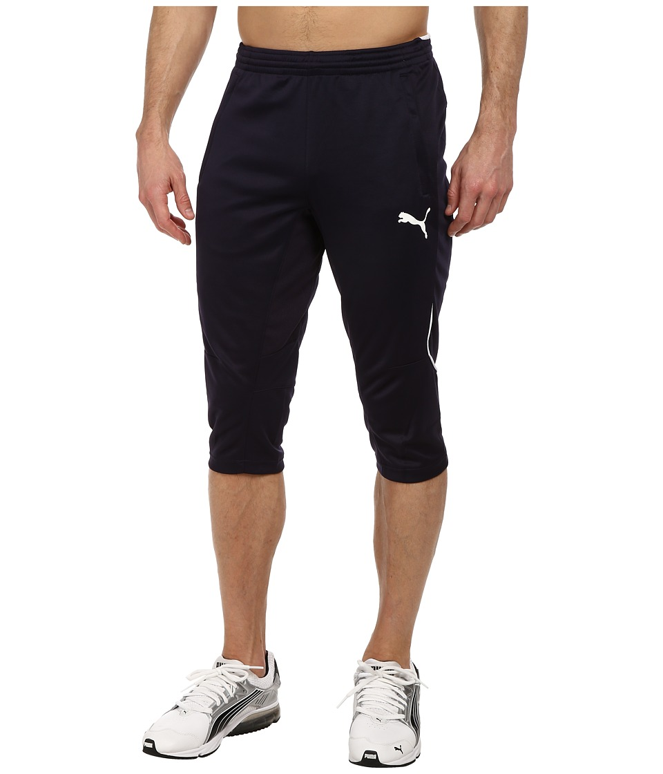 PUMA - 3/4 Training Pant (New Navy/White) Mens Casual Pants