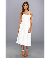 Badgley Mischka - Textured Sweetheart Strapless Cocktail Dress