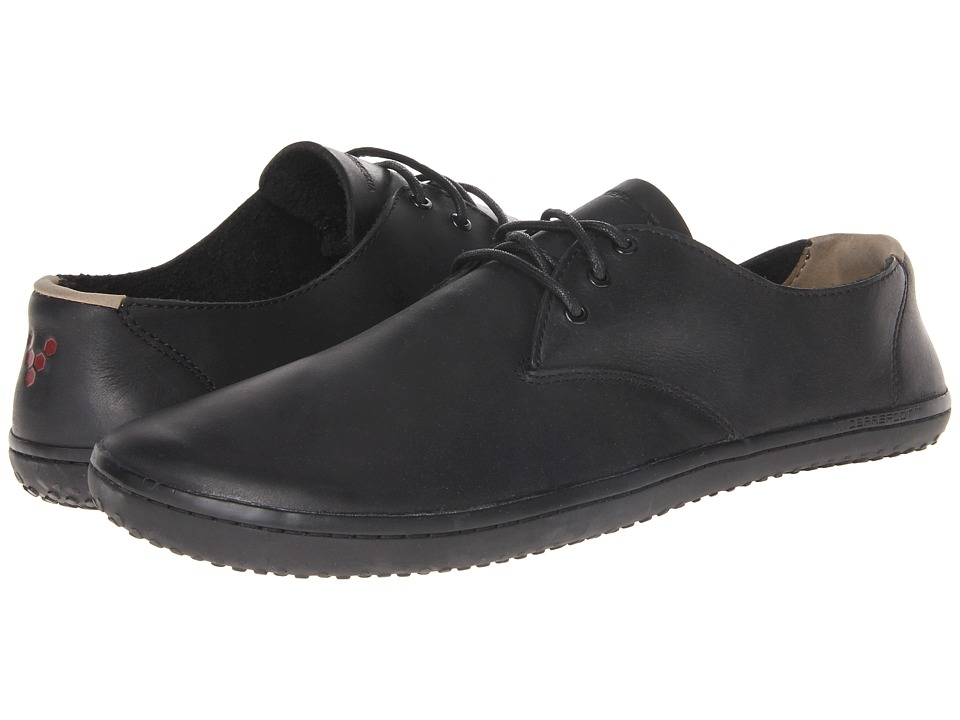 Vivobarefoot Ra II Black Leather Mens Shoes
