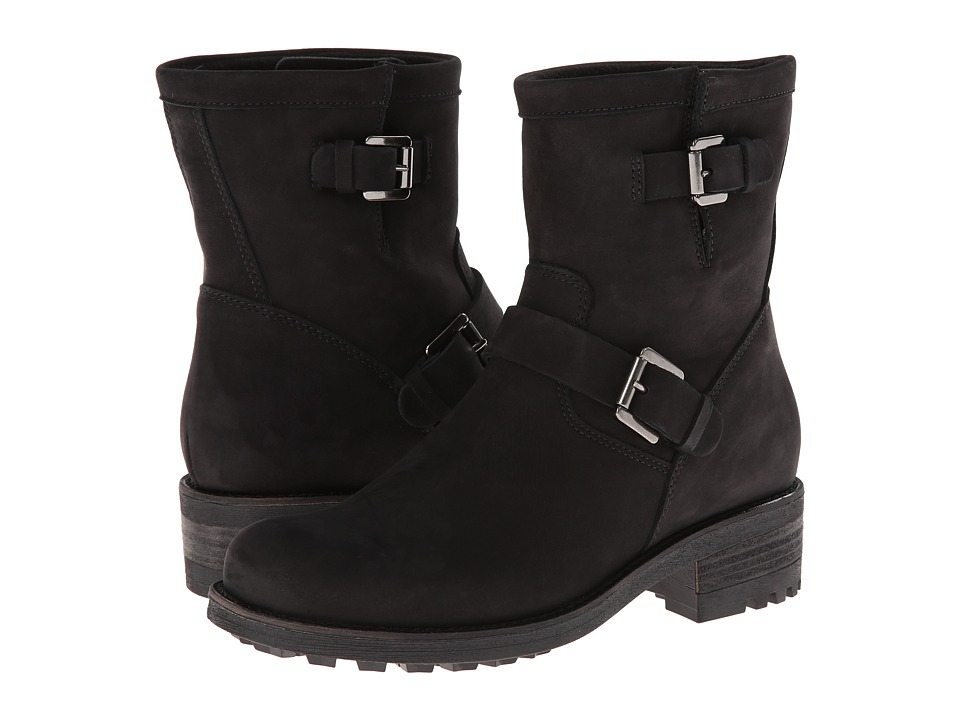La Canadienne - Charlotte (Black Nubuck) Women