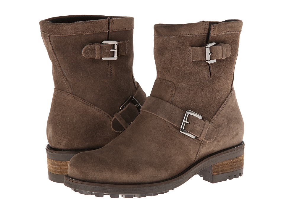 La Canadienne Charlotte (Stone Oiled Suede) Women