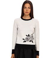 Kate Spade New York - Rose Intarsia Sweater