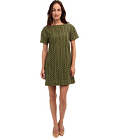 Kate Spade New York - Eyelet Short Sleeve Shift