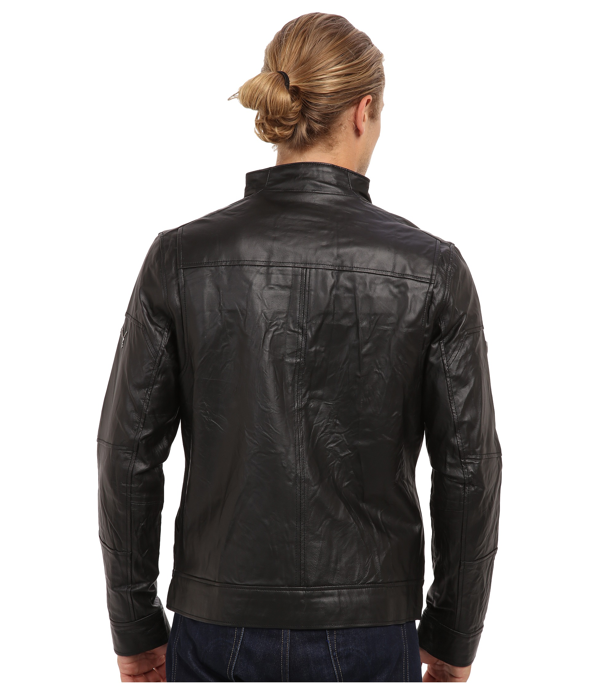 Puma leather jacket