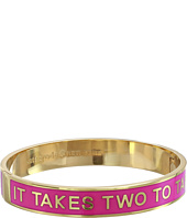Kate Spade New York - Hinged Idiom Bangles It Takes Two To Tango