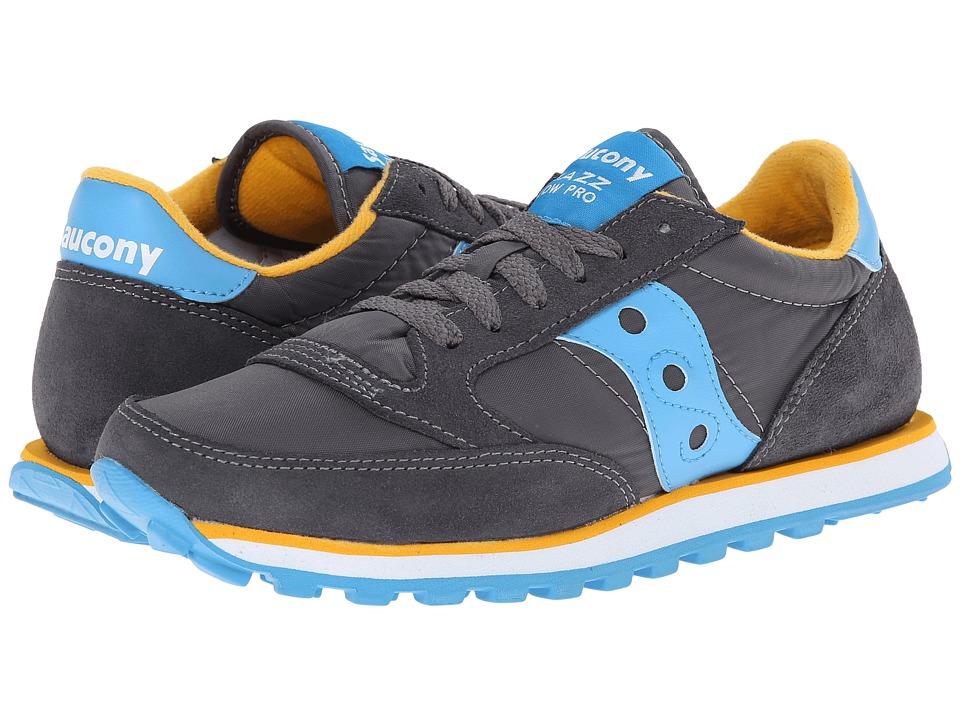 Saucony Originals Jazz Low Pro (Charcoal/Blue) Women's Classic Shoes