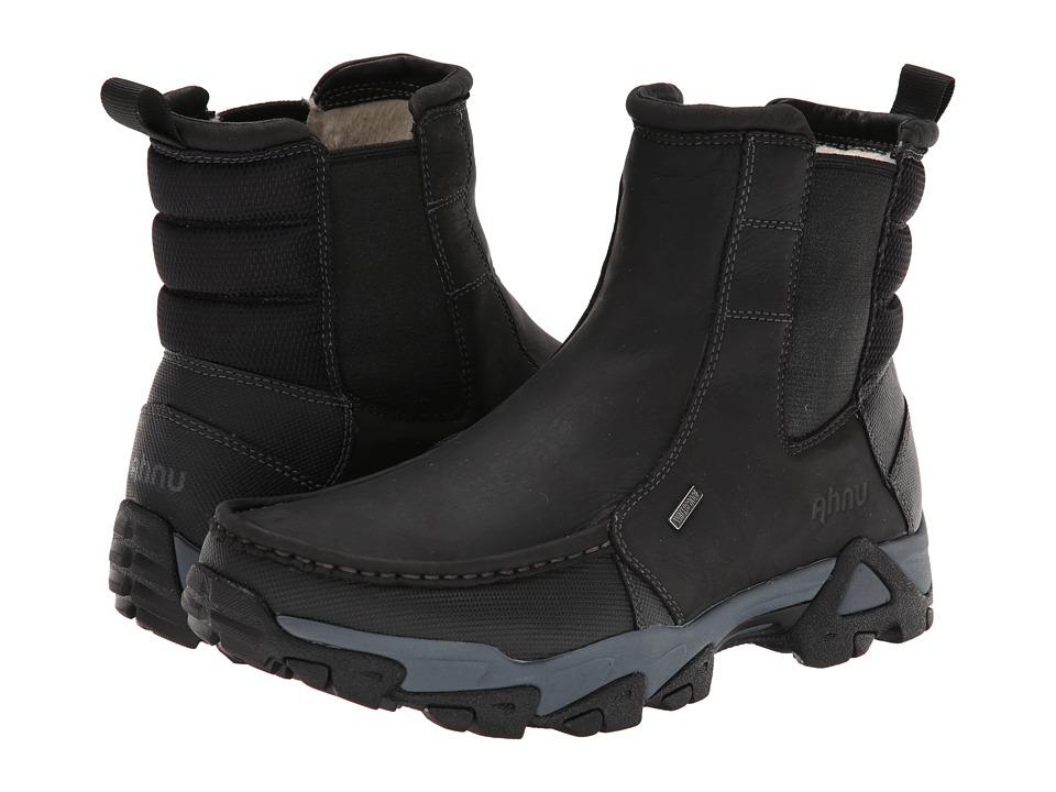 Ahnu Tamarack Black Mens Shoes