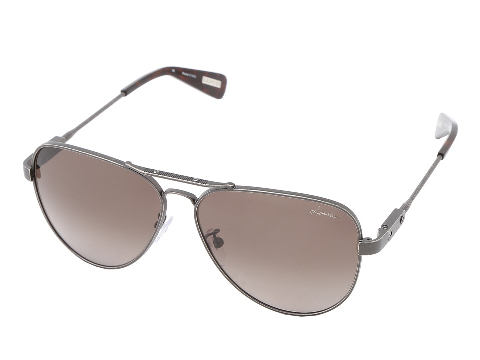 Lanvin SLN038 Gunmetal Brown/Gradient Brown Fashion Sunglasses