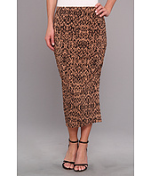 Three Dots - Ruched Midi Skirt