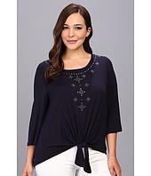 Karen Kane Plus - Plus Size Front Embellished Top
