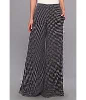 Badgley Mischka - Polka Dot Chiffon Pant