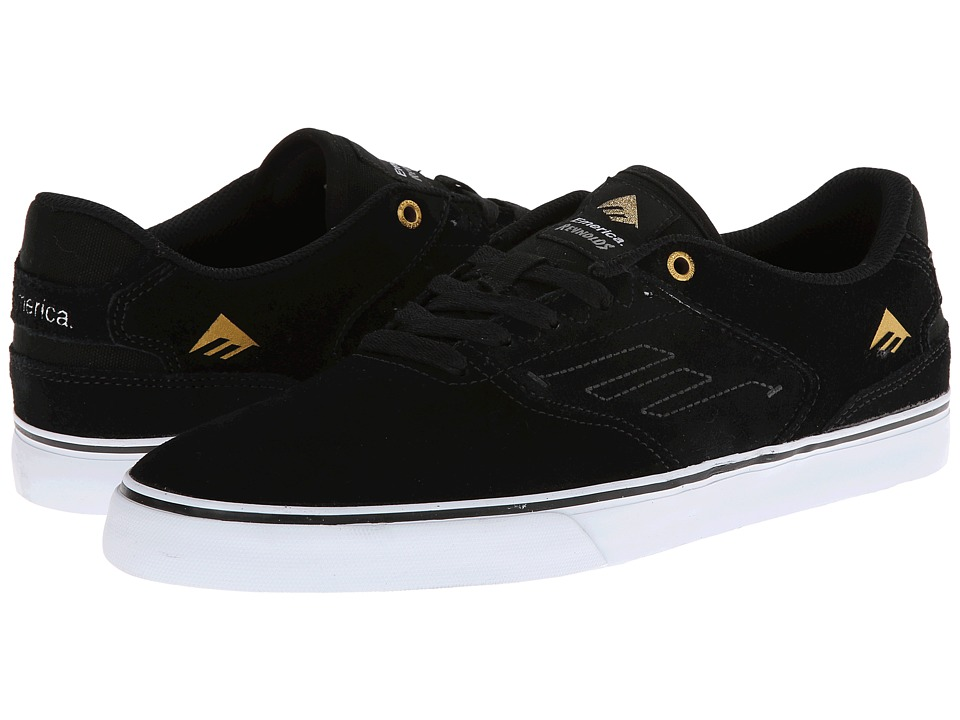 Emerica The Reynolds Low Vulc (Black/White) Men