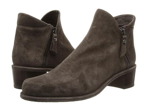 Shop Stuart Weitzman online and buy Stuart Weitzman Zip Down Seal Velour Footwear - Zappos.com is proud to offer the Stuart Weitzman - Zip Down (Seal Velour) - Footwear: Keep your wardrobe up to date with this Stuart Weitzman ankle boot! ; Nappa leather or velour upper. ; Plain toe. ; Side zip closure. ; Leather lining. ; Lightly padded footbed. ; Rubber sole. ; Made in Spain. Measurements: ; Heel Height: 1 1 2 in ; Weight: 11 oz ; Circumference: 9 1 2 in ; Shaft: 3 1 2 in ; Product measurements were taken using size 5, width M. Please note that measurements may vary by size.