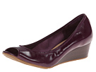 Cole Haan - Air Tali OT Wedge 40 (Elderberry Saffiano Patent)