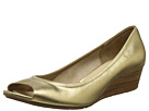 Cole Haan - Air Tali OT Wedge 40 (Cole Haan Gold Saffiano Metallic)