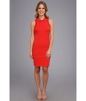 Lacoste - Sleeveless Pique Polo Dress