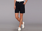 Lacoste - Stretch Gab Bermuda Short (Navy Blue) - Apparel at Zappos.com