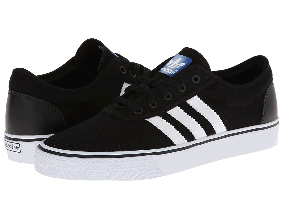 Image of adidas Skateboarding - Adi-Ease (Black/Core White/Black) Men's Skate Shoes