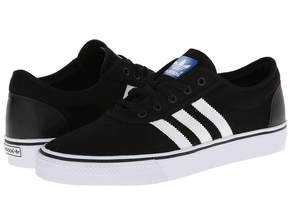 Image of adidas Skateboarding - Adi-Ease (Black/Core White/Black) Skate Shoes