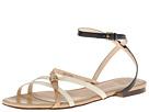 Cole Haan - Jensen Flat Sandal (Black/ White)