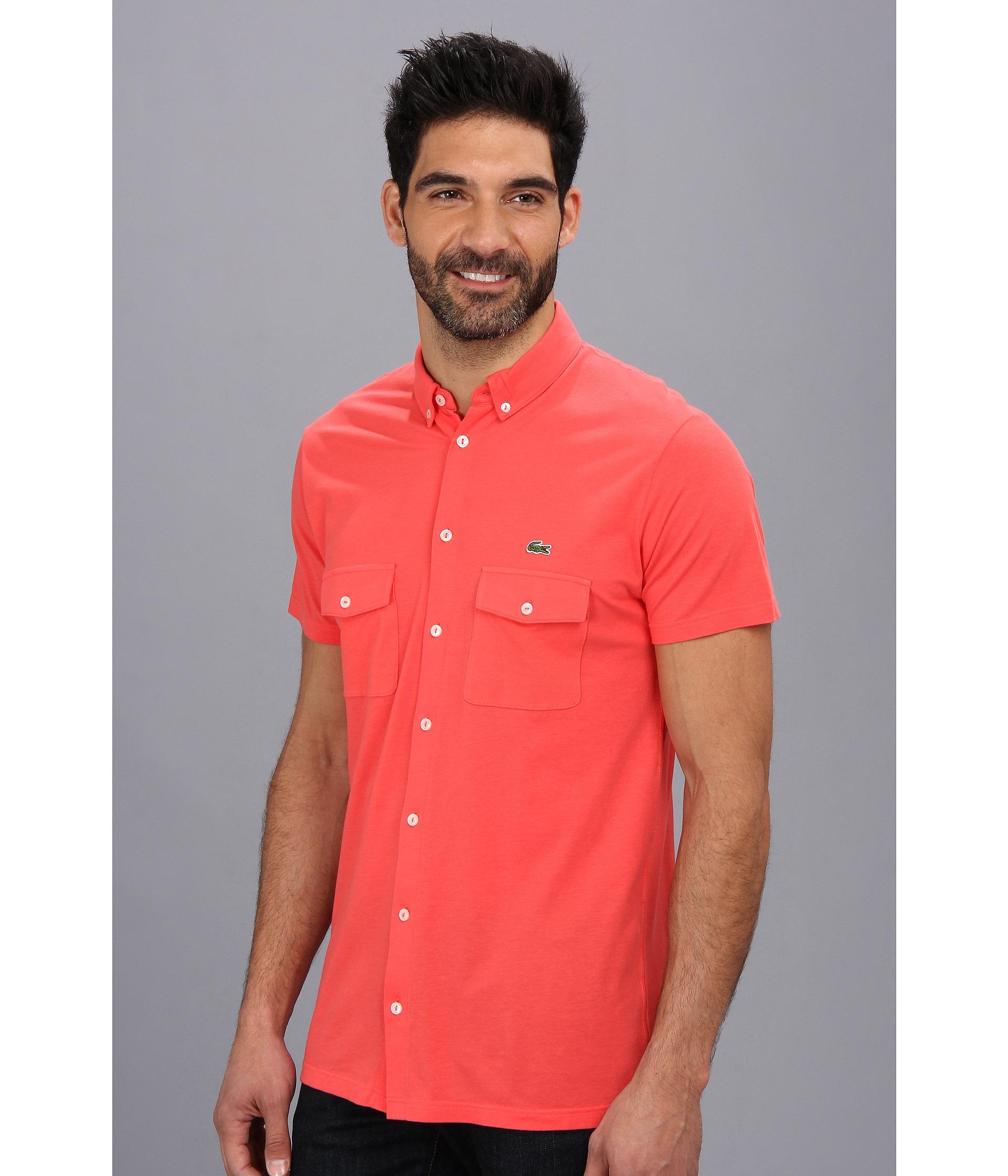 Lacoste 3 button polo shirt for 3 button polo shirts