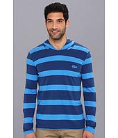 Lacoste - Striped Hoody T-Shirt