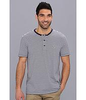 Lacoste - Short Sleeve Heritage Stripe Henley T-Shirt