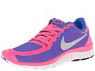 Nike Free 5.0 V4 (Hyper Pink/Hyper Cobalt/White/Metallic Platinum)