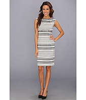Calvin Klein - Printed Lux Sheath Dress CD4XGBD6