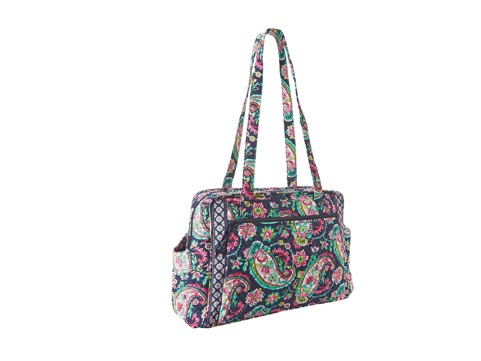 vera bradley make a change baby bag petal paisley free shipping both ways. Black Bedroom Furniture Sets. Home Design Ideas