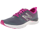 New Balance WX711 Grey, Poisonberry Shoes