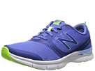 New Balance WX711 Blue Animal Print Shoes