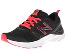 New Balance WX711 Black, Pink 2 Shoes