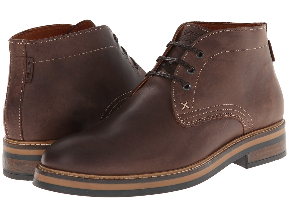 Wolverine Francisco Chukka (Dark Brown) Men