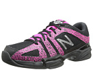 New Balance WC1005 Black, Pink Shoes