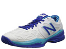 New Balance WC996 Paradise Blue, White Shoes