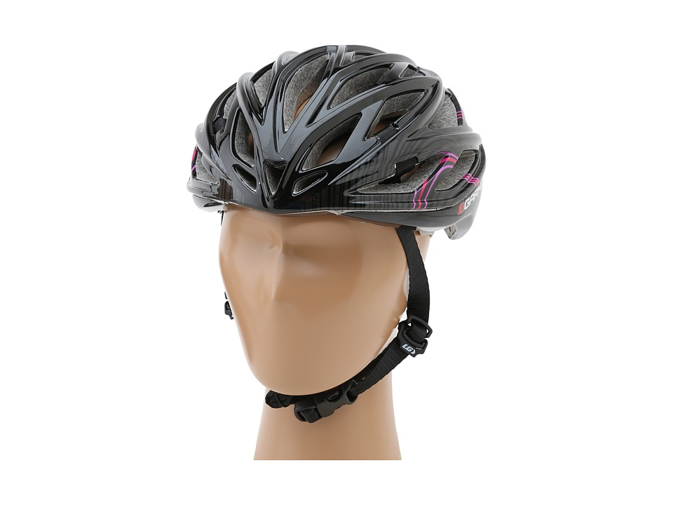 Image of Louis Garneau X-Lite (Black/Pink) Helmet