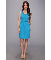 Ellen Tracy  Jacquard Fit And Flare With Cutout Back  image