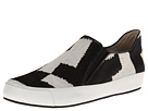 10 Crosby Derek Lam - Jared (Black/White Jigsaw Haircalf) - Footwear