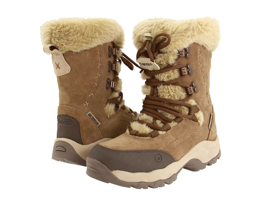 Hi-Tec St. Moritz 200 WP (Brown/Cream) Women's Boots