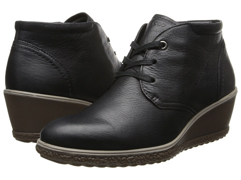 ecco camilla wedge ankle boot shoes shipped free at zappos