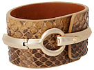 Sam Edelman - On The Road Snake Interlock Bracelet (Whiskey) - Jewelry